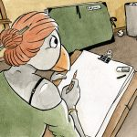 La dessinatrice