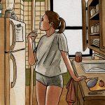 Confinée #4 : La cuisine