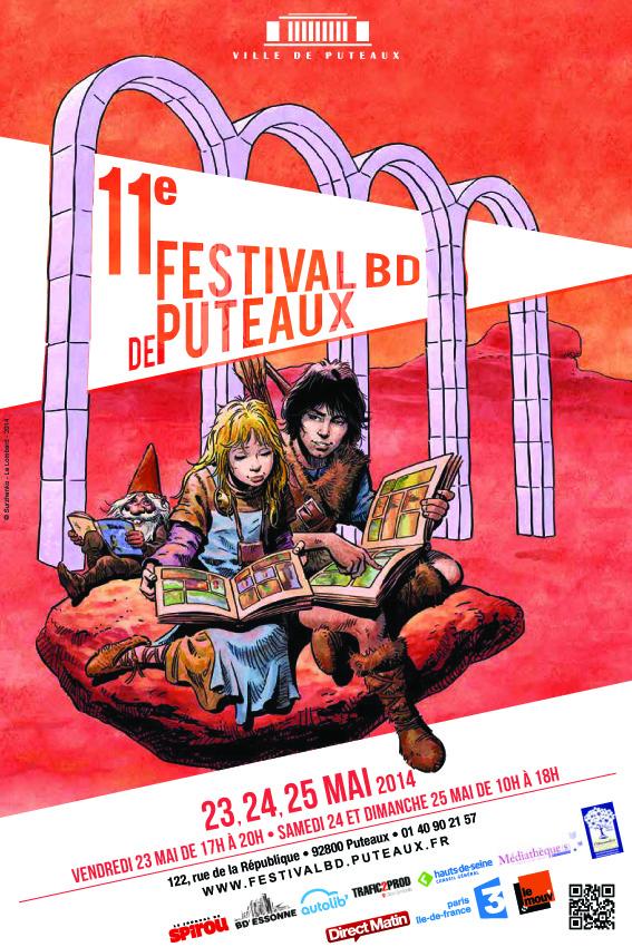 Festival BD affiche 40x60 bd 22 copie