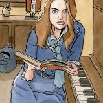 Elle jouait du piano assise